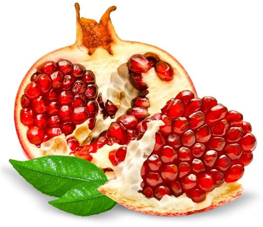 Granatapfels Phenole