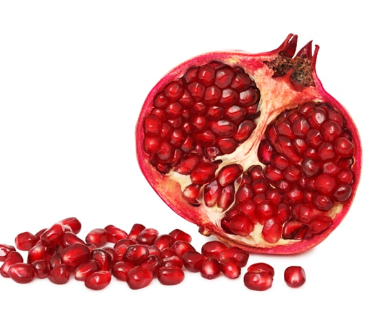 of pomegranate juice
