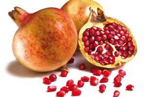 Spanish pomegranates