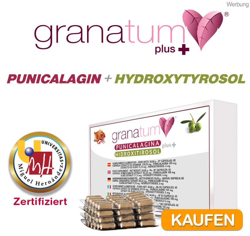 punicalagin + Hydroxytyrosol