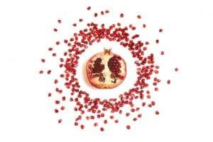 la punicalagina de la fruta granada