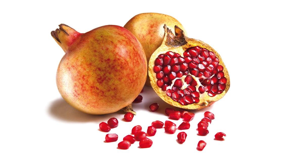 punicalagina de la fruta de la granada